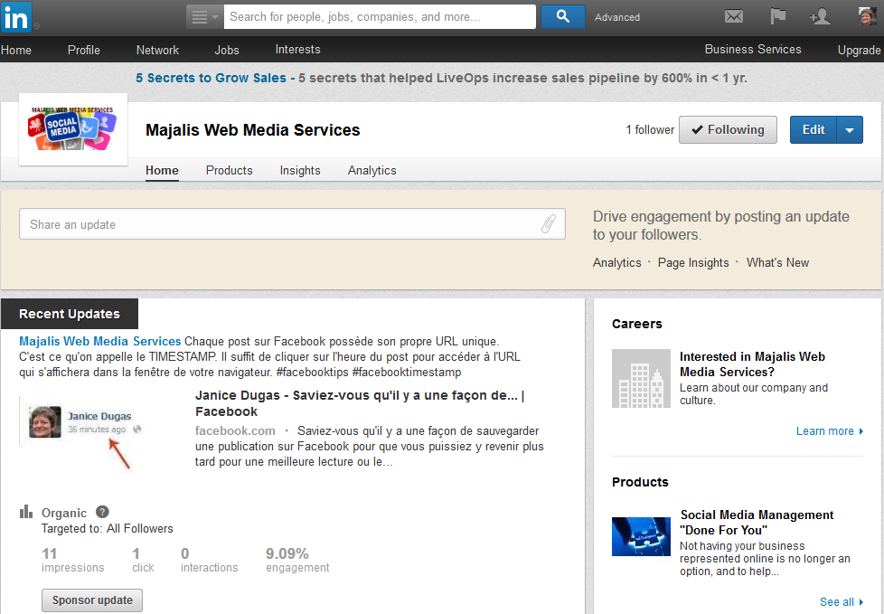 linked-in-company-page-majalis-web-media-services