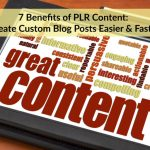 benefits of plr content