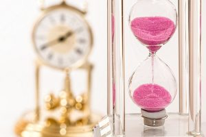 time management hourglass