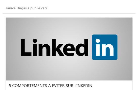 publication article linkedin
