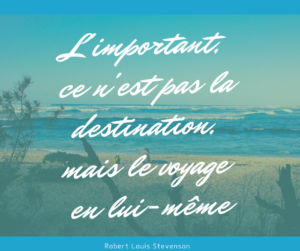 voyage citation robert louis stevenson