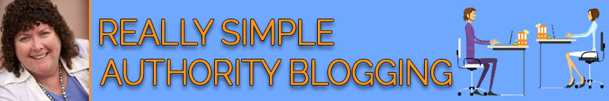 Really Simple Authority Blogging Banner