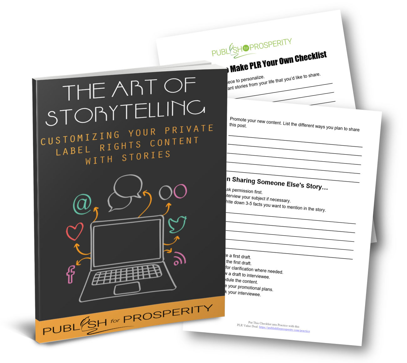 Free Storytelling Report & Checklist