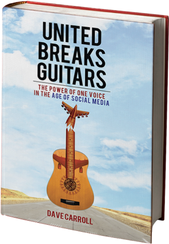 Storytelling Experience Client united breaks guitars book