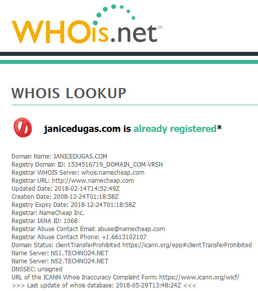 whoisguard whoisnet