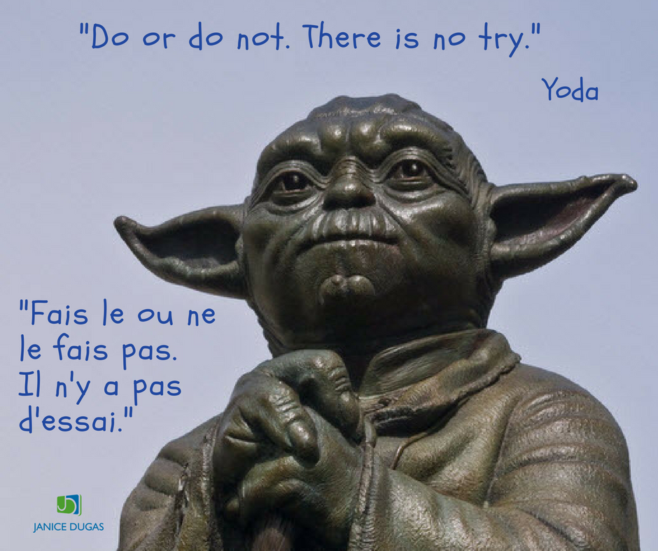 Ultimate Blog Challenge. Do or do not. There is no try. Yoda